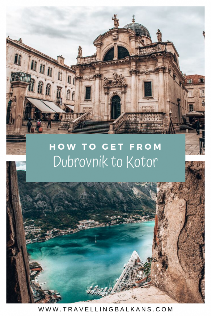 How to get from Dubrovnik to Kotor by bus