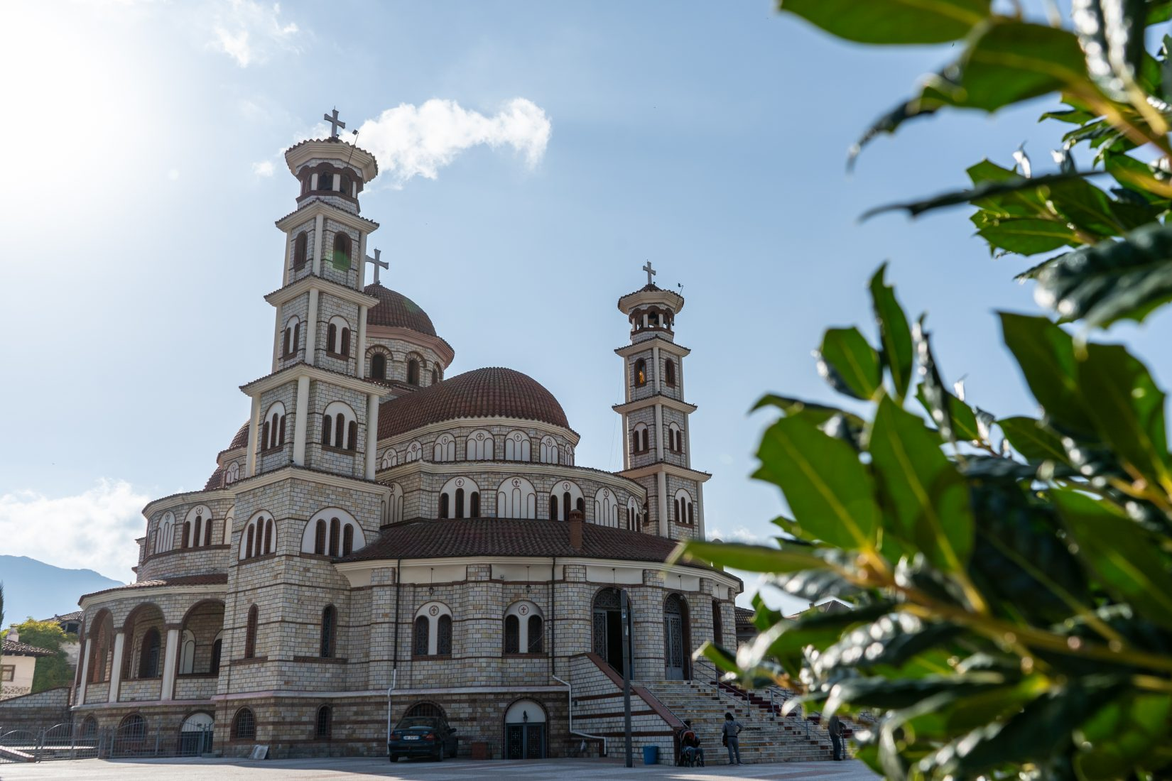 The largest Orthodox Church in Albania