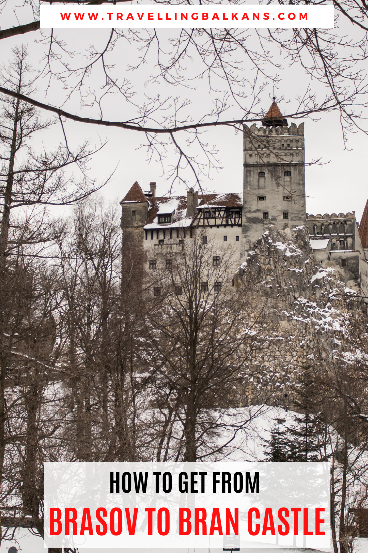 How to get from Brasov to Bran Castle
