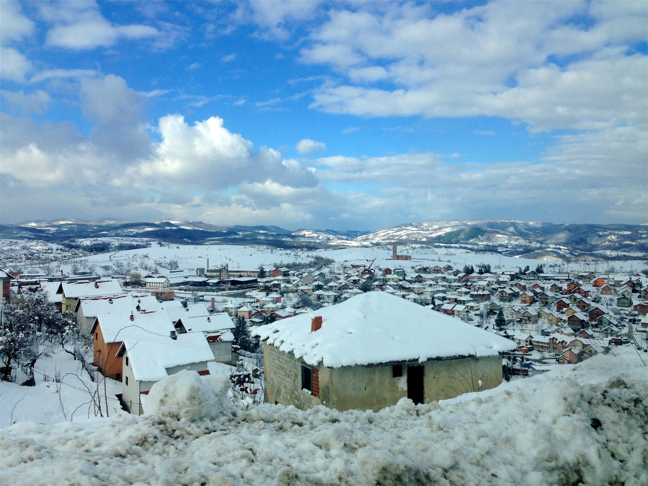 Bosnia in winter is truly stunning