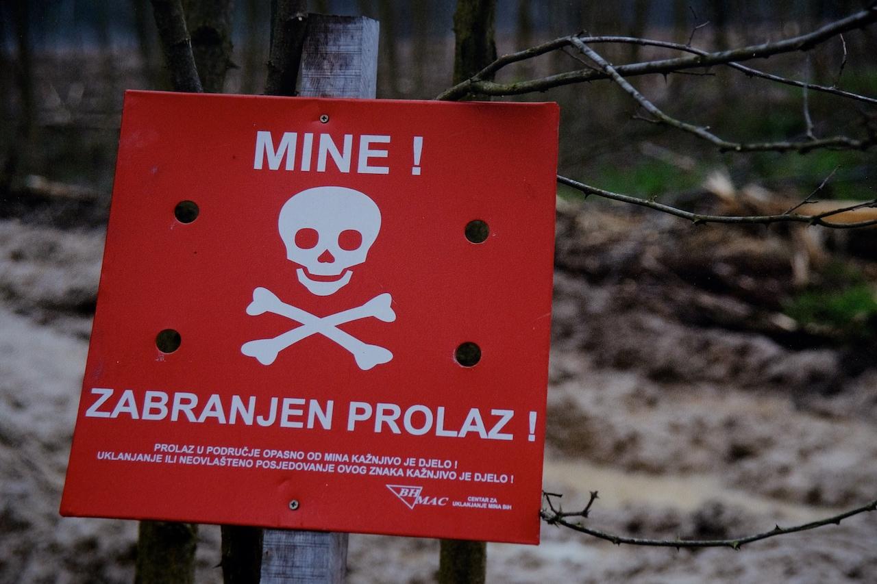 Landmine safety in Bosnia and Herzegovina