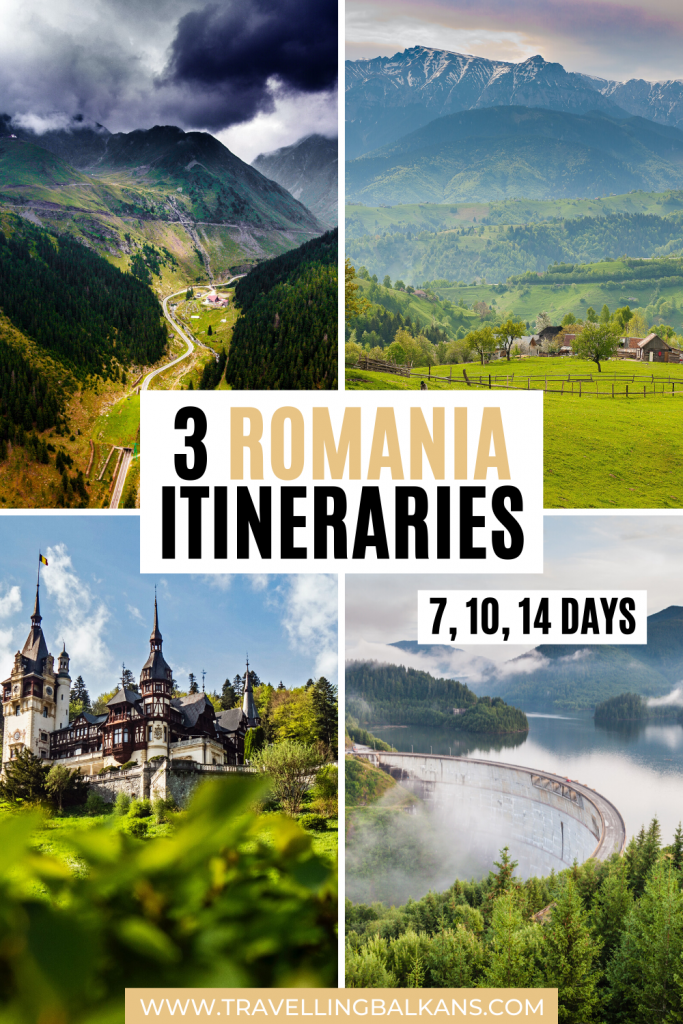 3 Romania Itinerary Ideas (7, 10, and 14 Days)